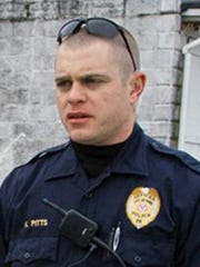 York City Police Officer Kyle Pitts was injured in a shooting in Harrisburg on Jan. 18, 2018.