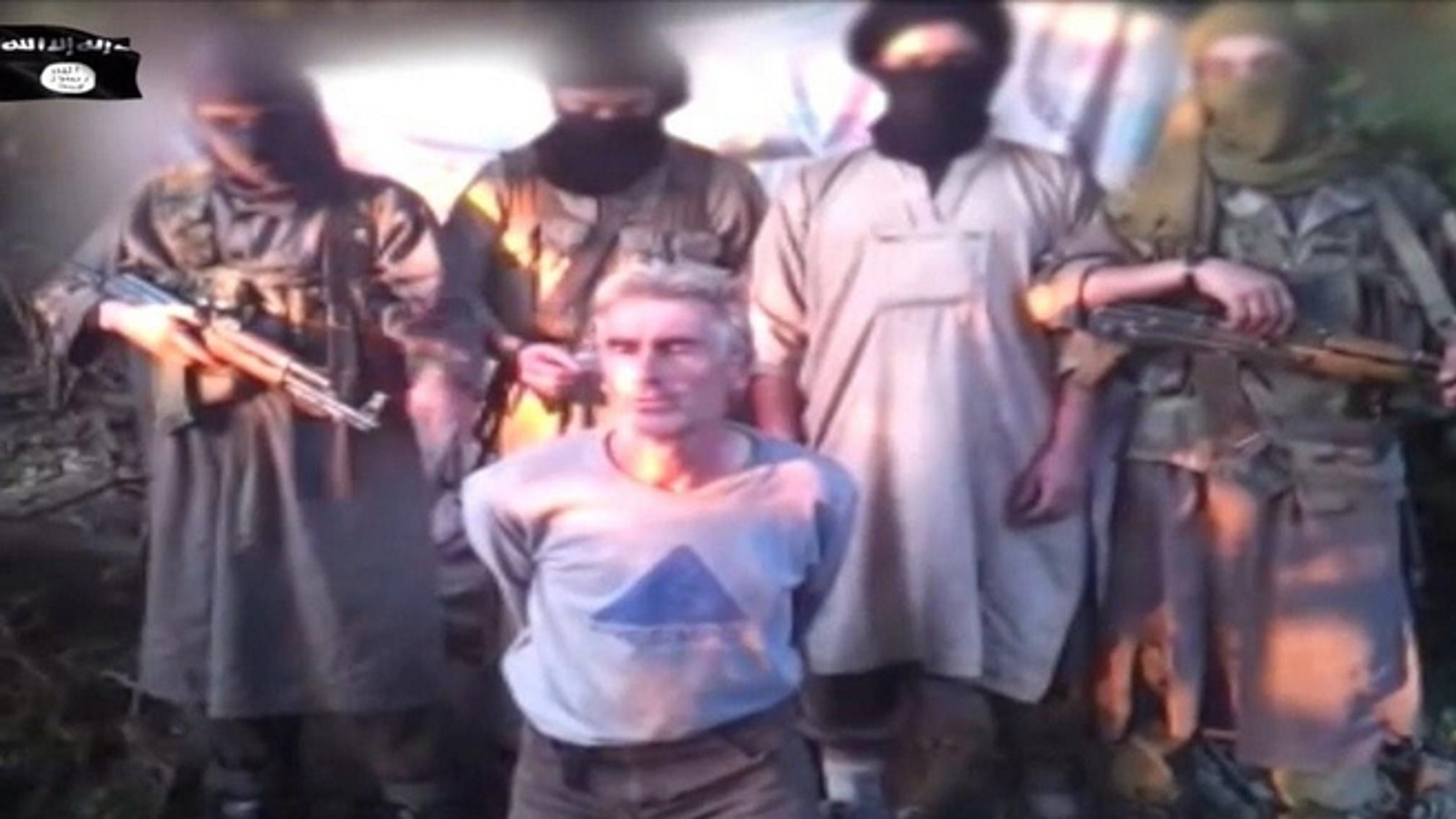 Jihadist video claims beheading of French hostage