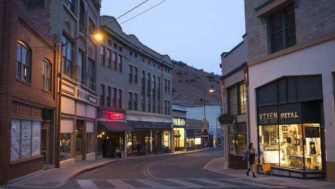 The charming streets of Bisbee hold many quaint shops.