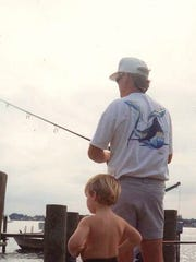 Billy Black, as a youth, watches his dad Richard Black