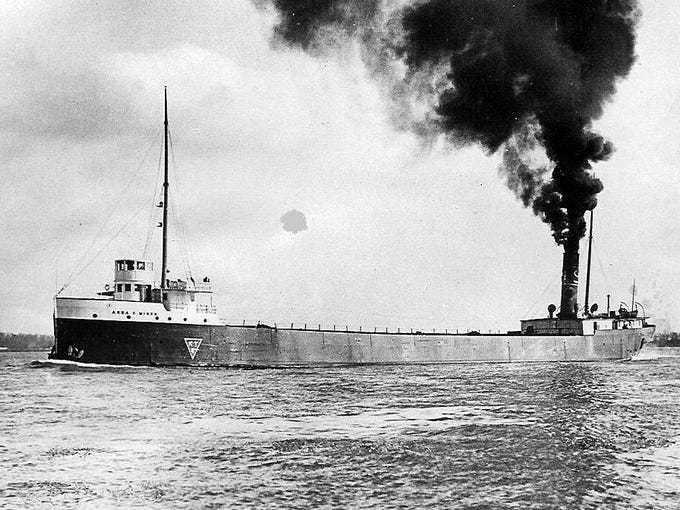 Anna C. Minch - Canadian freighter built in 1903 by