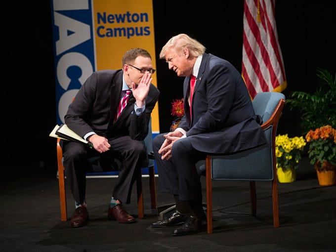 NEWTON, IA - NOVEMBER 19: Republican presidential