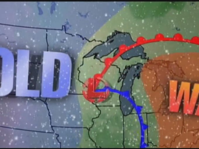 On November 11, 1940, three separate weather systems