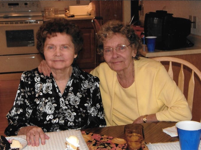 83-year-old identical twins die hours apart