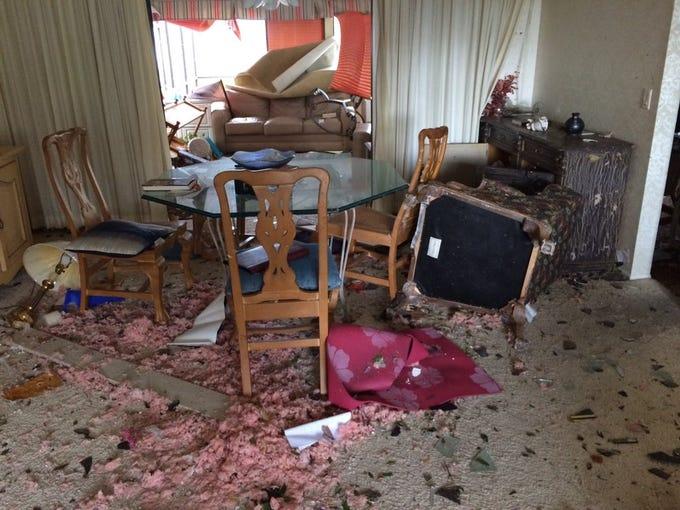 Sarasota tornado damage