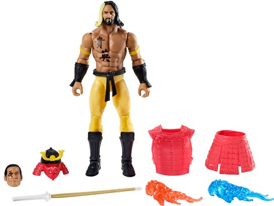Ever wanted to put Seth Rollins in samurai gear? His