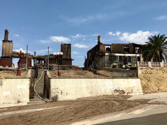 Trost home burns down in Central El Paso