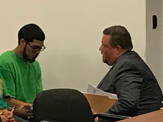 Freddy Garcia and his attorney Jason Seidman