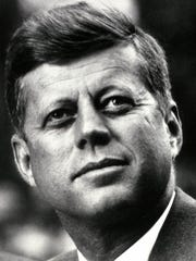 This 1963 file photo shows  President John F. Kennedy, who was assassinated Nov. 22, 1963.  (Photo credit should read HO/AFP/Getty Images)