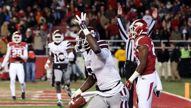 Mississippi State wide receiver Fred Brown was dismissed from the university on Thursday.