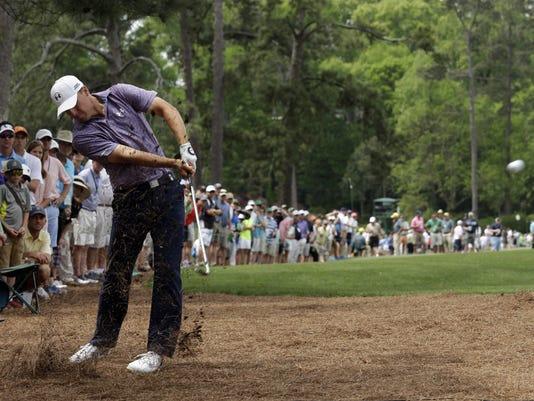 APTOPIX Masters Golf (2)