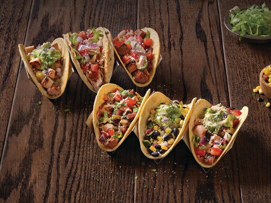 Build your own taco or burrito at Qdoba Mexican Grill.
