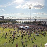 File photo of Forecastle Festival at Louisville Waterfront Park.
