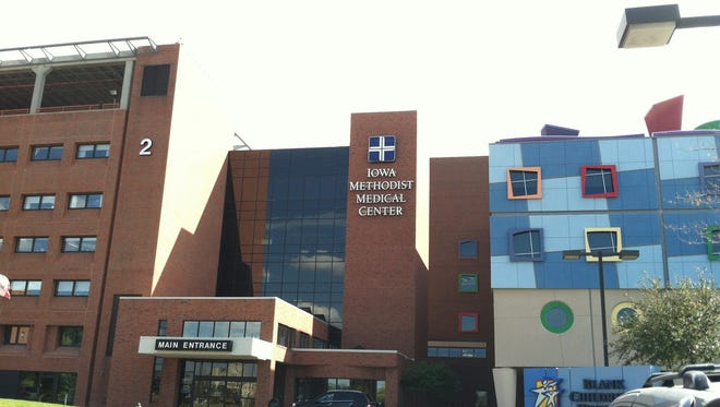 UnityPoint flagship hospital Iowa Methodist Medical Center.