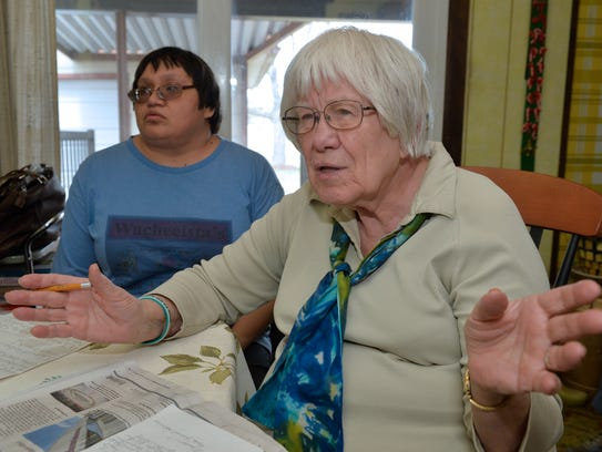 Sister Johnelle Howanach talks about what the loss