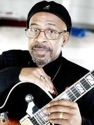 Guitarist Perry Hughes