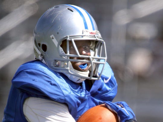MTSU running back J'Vonte Herrod is expected to contribute