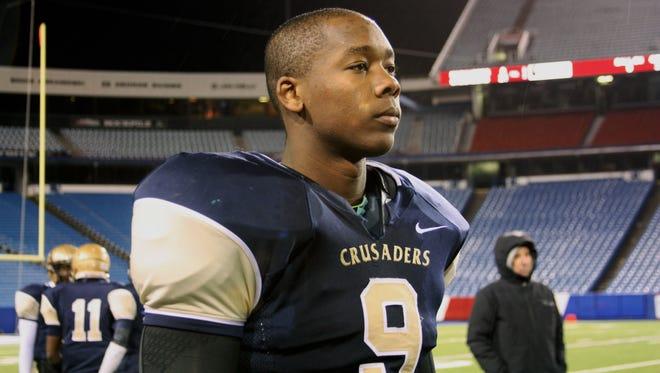 Tyrone Wheatley Jr., son of former Michigan running back Tyrone Wheatley.