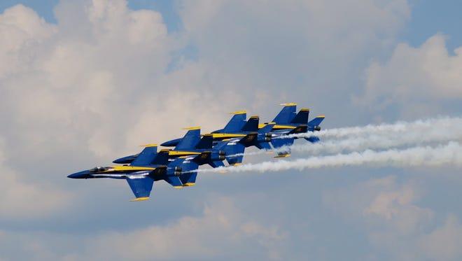 Barksdale Air Force Base Air Show as Sunday at BAFB.