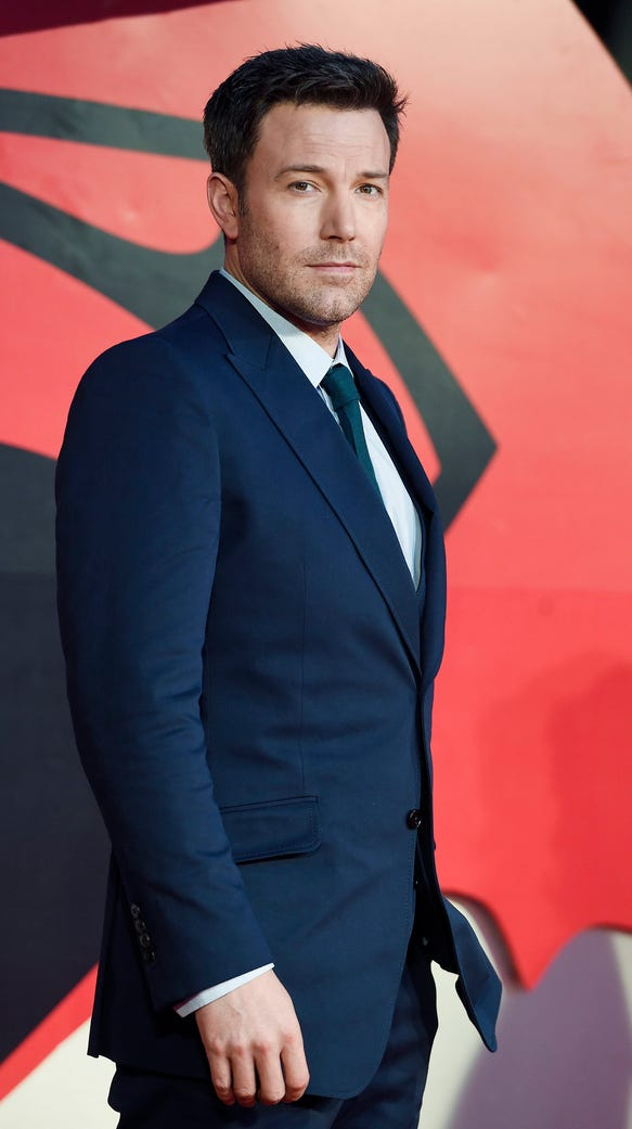 "Affleck arrives to the European premiere of  ""Batman"
