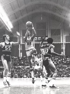 Bill Kilgore recorded 814 rebounds at MSU, at the time he finished in 1973, second only to Johnny Green.