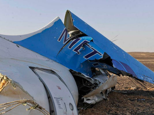 AP CORRECTION MIDEAST EGYPT RUSSIAN PLANE CRASH I EGY
