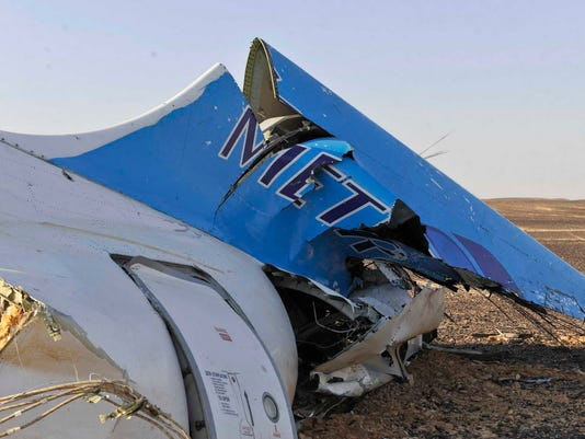 AP AIR CRASHES DEATHS I EGY