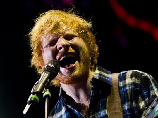 Ed Sheeran easily sold out the Marcus Amphitheater