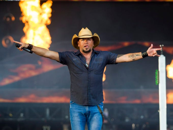 ACM Entertainer of the Year Jason Aldean is the big