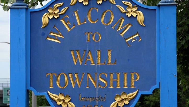Wall, NJ sign