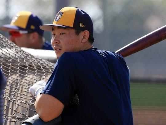 Keston Hiura was the Brewers' first pick in the 2017
