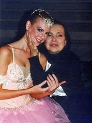 The Alabama Dance Theatre looks back on its 30-year history with Kate Seale Robertson, a former dance company professional, and performer with the Alabama Ballet, and a current ADT ballet teacher. Kate posed after a performance years ago with the late Dame Donia Arova.
