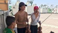 For war-weary refugees, Miss. woman plays Concerts for Compassion