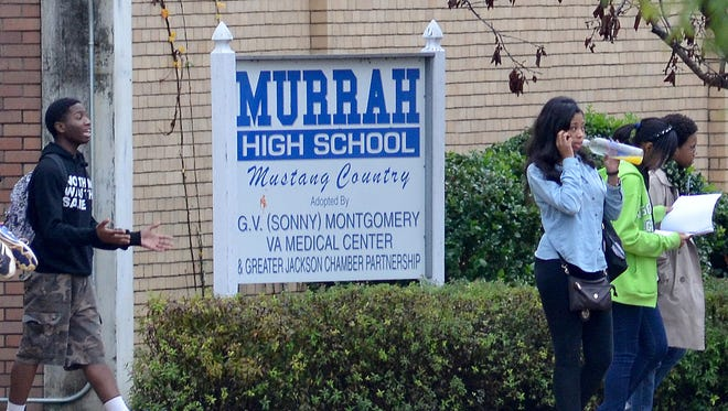 This is a file photo of the Murrah High School campus.