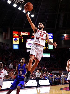 Darius Thompson, who previously played at Tennessee and Virginia, is finishing his career at Western Kentucky.