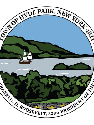 The Town of Hyde Park seal.