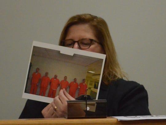 Colleen Seifert, a professor of psychology, testifies Monday about line-ups for criminal defendants.
