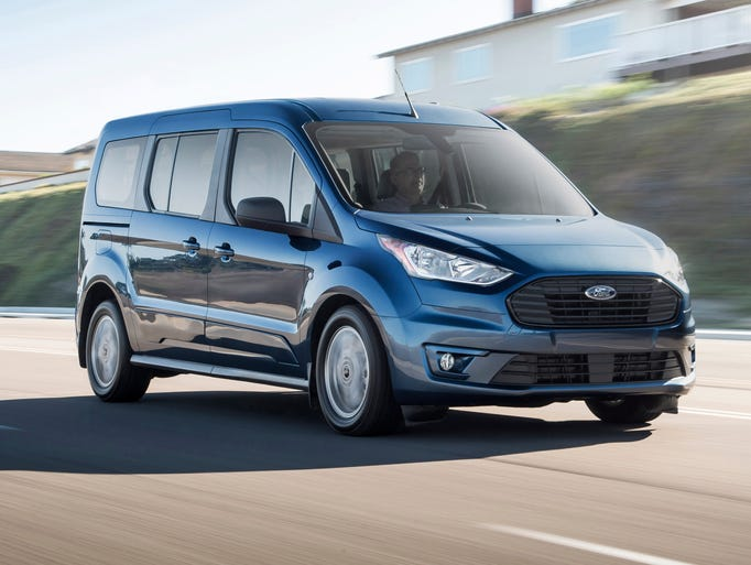 Ford Motor Co. showed the new vehicle ahead of a press