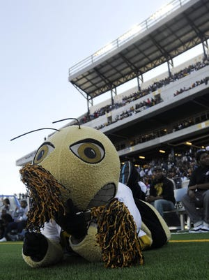 The Alabama State Hornets were floored by the Southern Jaguars on Saturday.