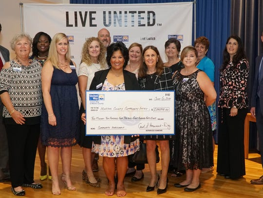 United Way of Martin County staff and board members