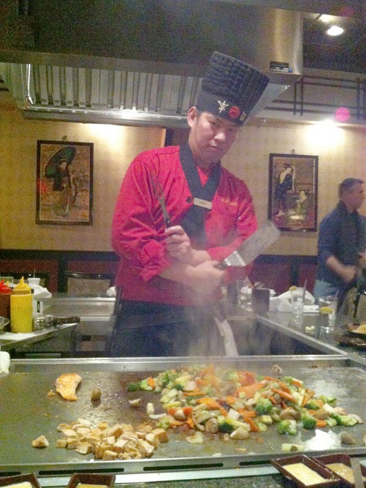 Steven Chen, 34, is a chef at Fujihana in York.  Photo by Haley Staub