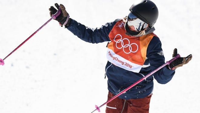 Maggie Voisin in ladies ski slopestyle.
