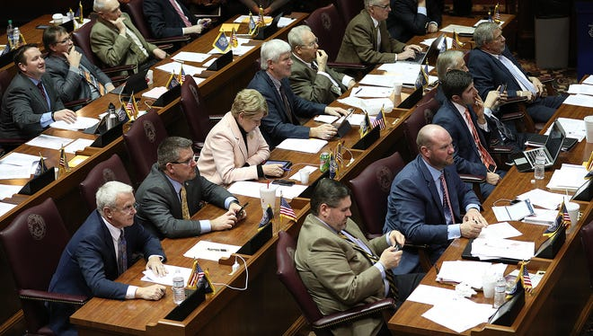 The final day of the legislative session made for busy lawmakers in the house and senate chambers Wednesday, March 14, 2018.