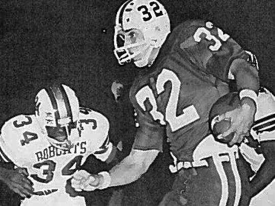 Ted Thompson rushed for 957 yards and eight touchdowns in his senior year.