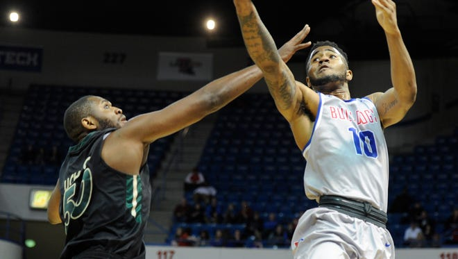 Louisiana Tech guard Dayon Griffin scored a career high 28 points in the Bulldogs' win Saturday over Charlotte.