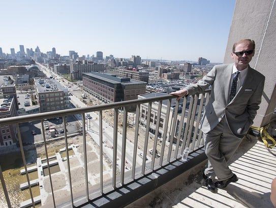 David DiRita, from the Detroit-based Roxbury Group,