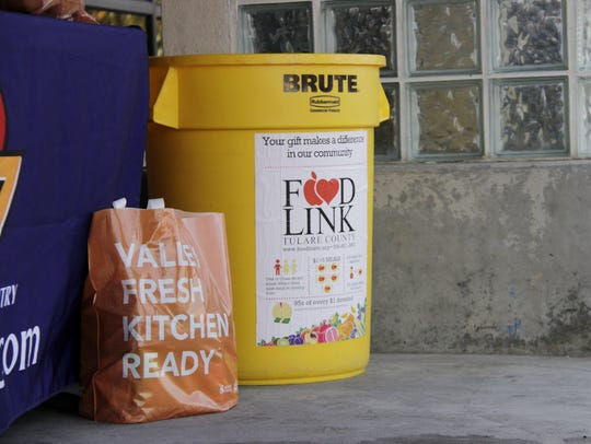 For the 2017 Community Food Drive for Foodlink of Tulare