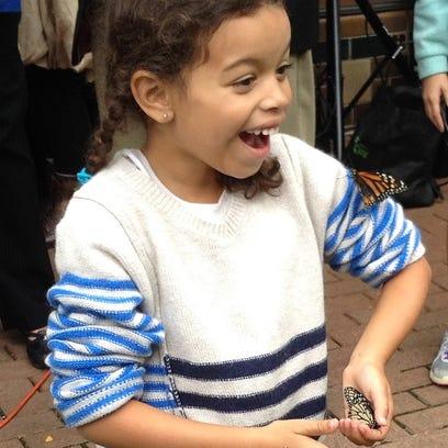 Butterfly release fundraiser soars above goal