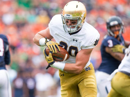 NCAA Football: Notre Dame at Virginia