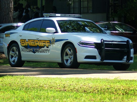 A Hinds County Sheriff's Dept. vehicle is shown in